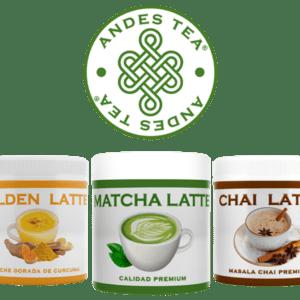 andes tea lattes #latte #chile #goldenlatte #matchalatte #chailatte #goldenlatte #especias #lattenatural #especiasreales #chile #empresachilena #andes #andestea