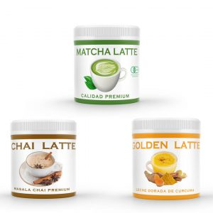 Super Lattes Pack #latte #chile #goldenlatte #matchalatte #chailatte #goldenlatte #especias #lattenatural #especiasreales #chile #empresachilena #andes #andestea