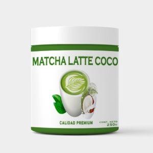 matcha latte coco vegano andes tea