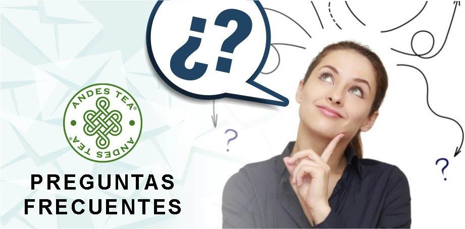 Preguntas frecuentes - Andes Tea